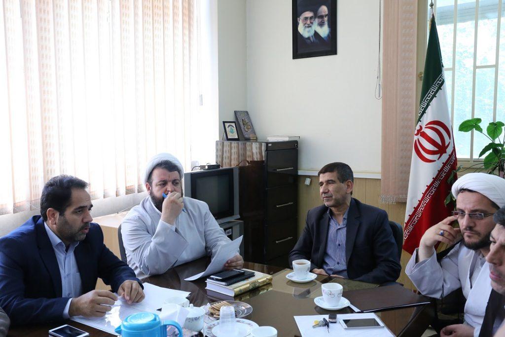 برگزاری جلسه شورای فرهنگی دانشگاه در دفتر نهاد
