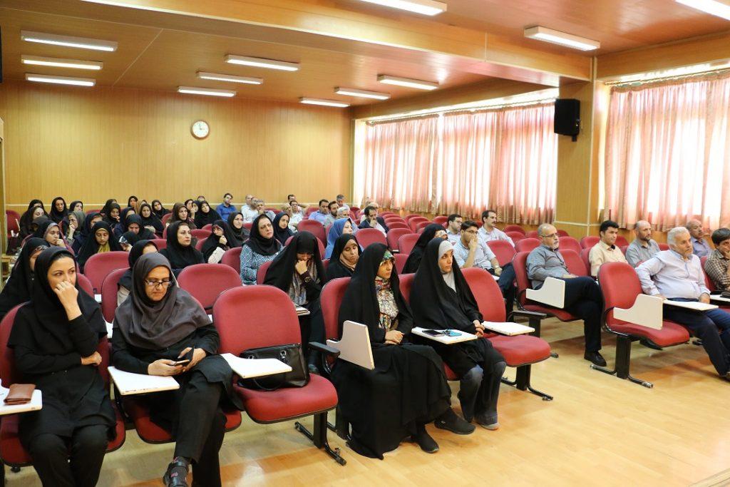 برگزاری کارگاه آموزشی اساتید وکارکنان