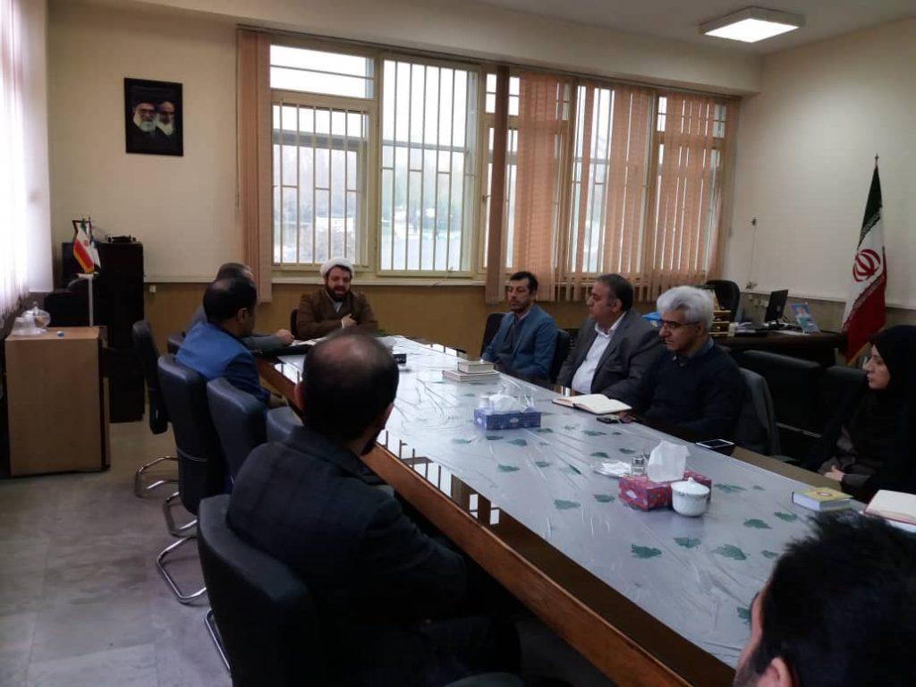 اولین جلسه هیات قرآنی و معرفتی اساتید