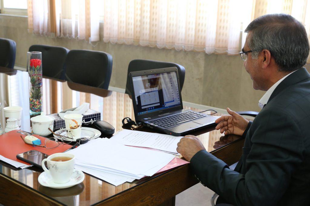 برگزاری هم اندیشی آنلاین مجازی (وبینار)