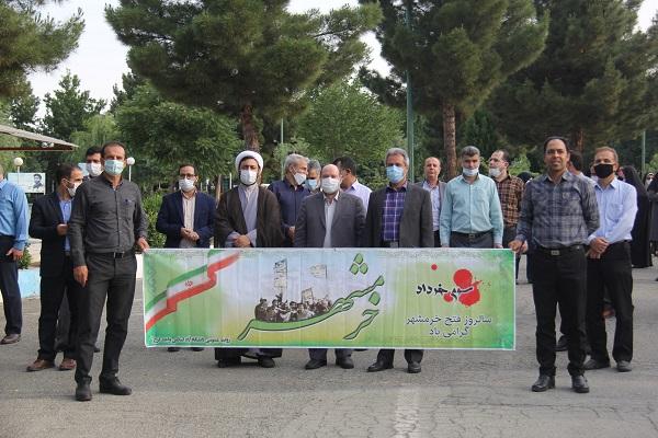 گزارش تصویری پیاده روی دانشگاهیان واحد کرج بمناسبت سوم خرداد