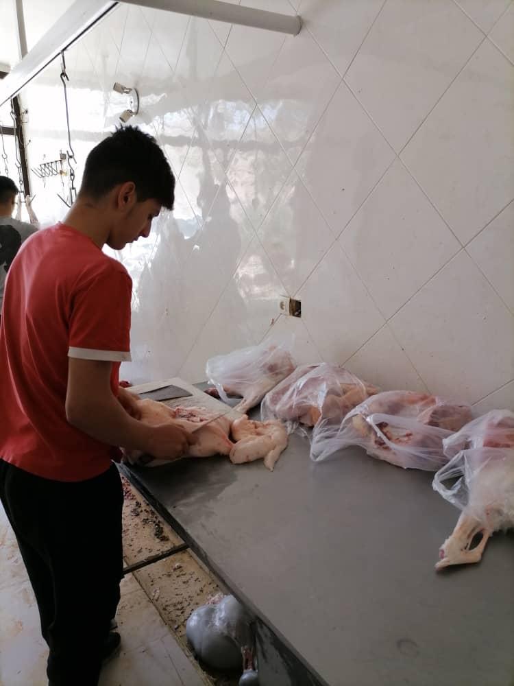 گزارش تصویری از قربانی اول ماه صفر1443  بین 3 مرکز بهزیستی در کرج